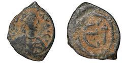 Ancient Coins - Justin II 565-578 Æ Pentanummium Ravenna VF\XF \ Byzantine Coins
