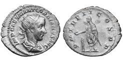 Ancient Coins - Gordian III Silver Antoninianus 240 XF \ Roman Coins
