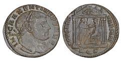 Ancient Coins - MAXENTIUS 307-312 Follis Aquileia Rare XF\UNC