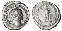 Ancient Coins - Caracalla. Denarius. Struck 216 AD UNC