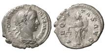 Severus Alexander. 222-228 AD. Denarius XF