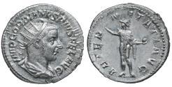 Ancient Coins - Gordian III. AR Antoninianus. 238-244. Near MS