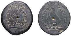 Ancient Coins - EGYPT Ptolemaic Ptolemy II 285-246 BC AE37 Hemidrachm 34,86 gr VF+