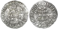 World Coins - Italy Naples  Roberto d'Angiò 1309-1343 Gigliato XF