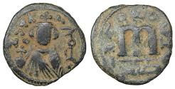 World Coins - ARAB-BYZANTINE 660s-680s AE fals Hims (Emesa) Rare. XF