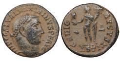 Ancient Coins - Maximinus II Daia. A.D. 309-313. Æ follis. UNC