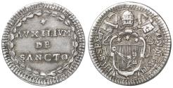 World Coins - Papal States Pius VI 1775-1799 Grosso UNC