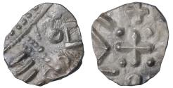 World Coins - Early Anglo-Saxon England, continental phase AR Sceat R2. XF 695-740 AD.