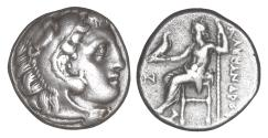 Ancient Coins - Kings of Macedon Alexander III the Great 336-323 BC Drachm XF