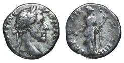 Ancient Coins - Antoninus Pius. Denarius. 140-143 AD. Rome. \ Pax \ VF
