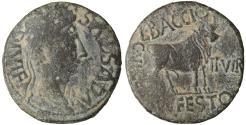 Ancient Coins - Augustus. 27 BC - 14 AD. AE28. Lepida-Celsa, Hispania Terraconensis.