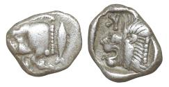 Ancient Coins - Mysia Kyzikos 480 BC Obol XF\UNC