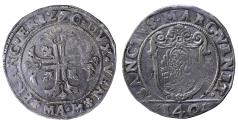 World Coins - Republic of Venice Francesco Erizzo Scudo 1631-1646 AD. 31 gr. aXF