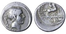 Ancient Coins - L Marcius Philippus. AR Denarius. ca 56 BB Near Extremely fine