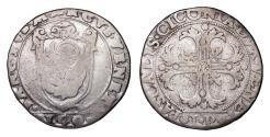 World Coins - Venice. Pasquale Cicogna. 1585-1595 AD. Scudo VF. Rare
