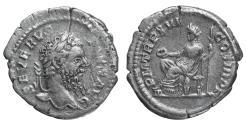 Ancient Coins - Septimius Severus. AR Denarius, 208, Rome. VF/EF \ Roman coin