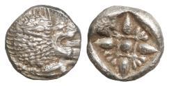 Ancient Coins - Ionia Miletos 510-494 BC Silver Diobol UNC \ Greek Coins