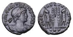 Ancient Coins - CONSTANTIUS II. 337-361 AD. BRONZE. UNC \ Roman coin