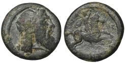 Ancient Coins - Pisidia. Isinda. Civic issue, 14-3 BC aXF