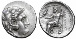 Ancient Coins - SELEUKID KINGDOM Seleukos I Nikator 312-281 BC Tetradrachm Karrhai XF