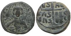 Ancient Coins - Anonymous attributed to Romanus III  1028-1034 AE follis