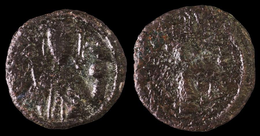 Ancient Coins - Alexius I Comnenus. 1081-1118 AD. AE Tetarteron Jewelled cross