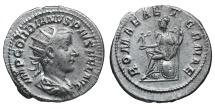 Ancient Coins - Gordian III. AR Antoninianus. 240 AD, Rome XF