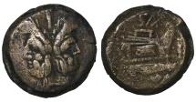 Ancient Coins - C. Sax. Ca. 169-158 B.C. AS Central Italian mint.  VF