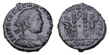 Ancient Coins - CONSTANTIUS II. 337-361 AD. BRONZE in ex. SCONST
