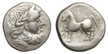 Ancient Coins - CELTIC. Imitations of Philip II of Macedon (2nd-1st centuries BC). Tetradrachm.