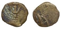 Ancient Coins - JUDAEA HASMONEANS ALEXANDER JANNAIOS 103-76 BC. PRUTAH Mint of Jerusalem