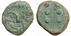 Ancient Coins - SICILY HIMERA 450-420 BC HEMILITRON Gorgoneion