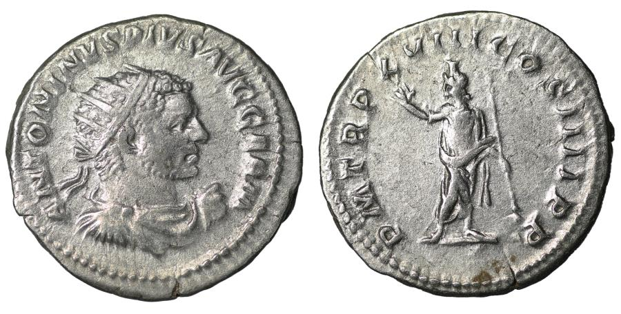 Ancient Coins - Caracalla, 198-217. Antoninianus. Rome, Serapis XF+