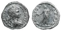 Caracalla. Denarius. 199-200 AD XF