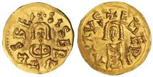 World Coins - Visigoth. Sisebut. 612-621 AD. Gold Tremissis Extremely fine