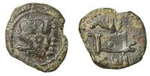 World Coins - William II of Sicily Follaro Messina Rare XF