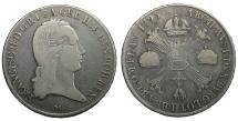 World Coins - Duchy of Milan and Mantua Franz Haugsburg Crocione 1795 Milan mint
