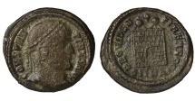 Ancient Coins - Constantine I AE follis. Nicomedia mint. 324-325 AD EF