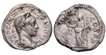 Ancient Coins - SEVERUS ALEXANDER. 225 - 235 AD. DENARIUS. Pax