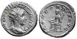 Ancient Coins - Gordian III AR Antoninianus 240 Third Issue Rome CONCORDIA aUNC