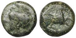 Ancient Coins - Zeugitania. Carthage. 400-350 BC. Bronze XF