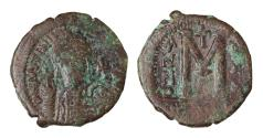 Ancient Coins - Justinian I Constantinople mint. Struck in 547/548 AD.