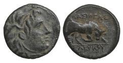 Ancient Coins - Seleukid Kingdom Seleukos I Nikator 312-281 BC Bronze XF