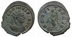 Ancient Coins - Carinus 283-285 Antoninianus XF Bust\ Aequitas