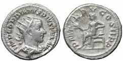 Ancient Coins - GORDIAN III 238-244 Antoninianus XF Bust \ Apollo