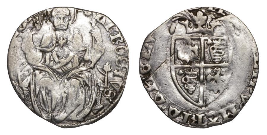 World Coins - Italy Milan Filippo Maria Visconti Grosso da 2 Soldi 1412-1447 AD. XF