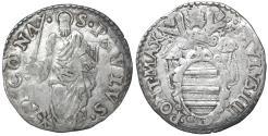 World Coins - Papal States. Ancona Mint. Paul IV (1555-1559). Giulio. VF\XF