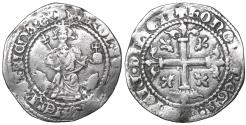 World Coins - Italy Naples Robert of Anjou 1309-1343 Gigliato aXF