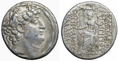 Ancient Coins - SELEUCID Philip I Philadelphus 95-76 BC AR Silver tetradrachm XF