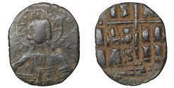 Ancient Coins - Romanus III Argyrus AD 1028-1034 Anonymous Bronze Follis Class B Sandy patina. VF+